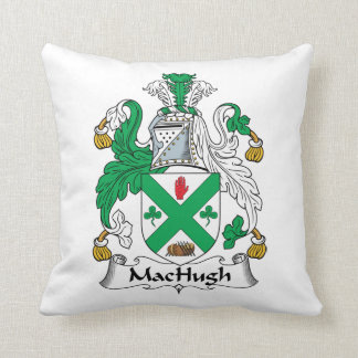 Escudo de la familia de MacHugh Cojines