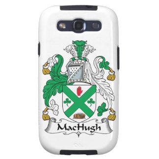 Escudo de la familia de MacHugh Galaxy S3 Fundas