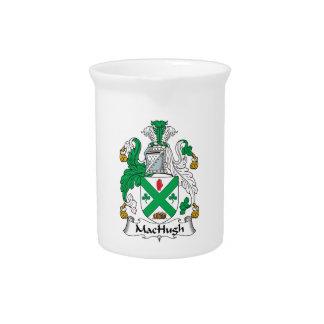 Escudo de la familia de MacHugh Jarrones