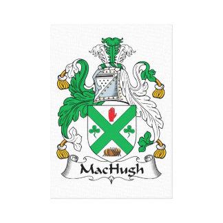 Escudo de la familia de MacHugh Lona Estirada Galerías