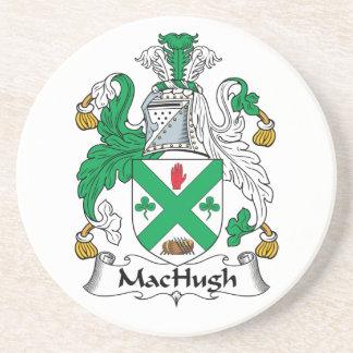 Escudo de la familia de MacHugh Posavasos Personalizados