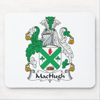 Escudo de la familia de MacHugh Alfombrillas De Raton