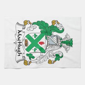 Escudo de la familia de MacHugh Toalla