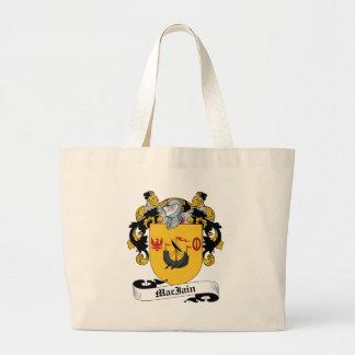 Escudo de la familia de MacIain Bolsas De Mano