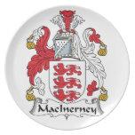Escudo de la familia de MacInerney Platos