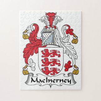 Escudo de la familia de MacInerney Puzzles
