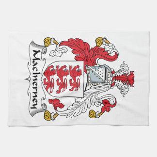 Escudo de la familia de MacInerney Toallas De Mano