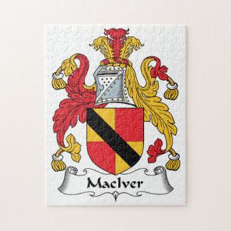 Escudo de la familia de MacIver Puzzles Con Fotos