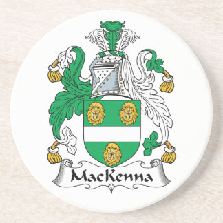 Escudo de la familia de MacKenna Posavaso Para Bebida