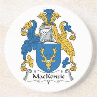 Escudo de la familia de MacKenzie Posavasos Personalizados