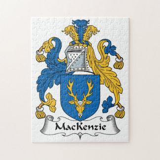 Escudo de la familia de MacKenzie Puzzle