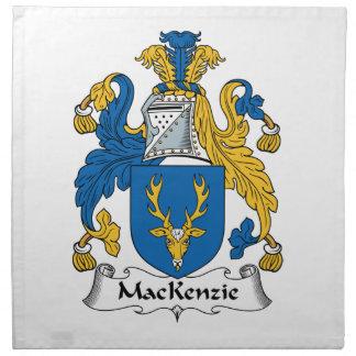 Escudo de la familia de MacKenzie Servilletas