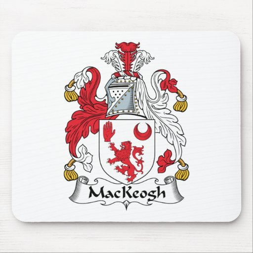 Escudo de la familia de MacKeogh Tapete De Ratón