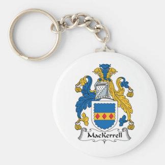 Escudo de la familia de MacKerrell Llaveros Personalizados