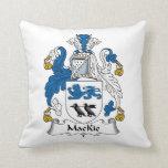 Escudo de la familia de MacKie Almohada