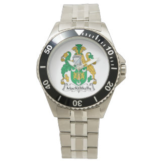 Escudo de la familia de MacKillikelly Reloj