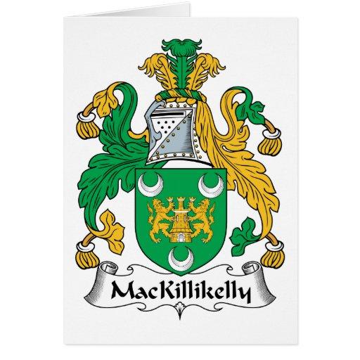 Escudo de la familia de MacKillikelly Tarjeton