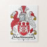 Escudo de la familia de MacKinucane Rompecabezas