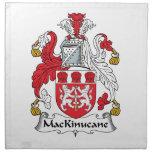 Escudo de la familia de MacKinucane Servilleta