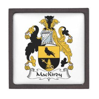 Escudo de la familia de MacKirdy Caja De Regalo De Calidad