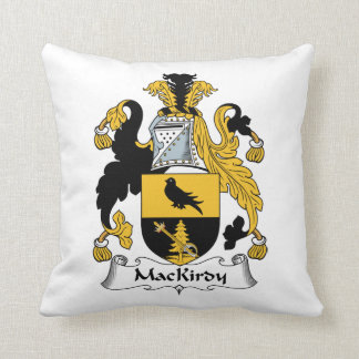 Escudo de la familia de MacKirdy Cojin
