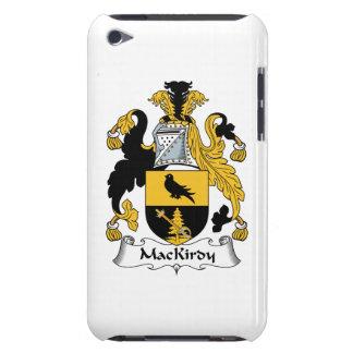 Escudo de la familia de MacKirdy iPod Case-Mate Cárcasas