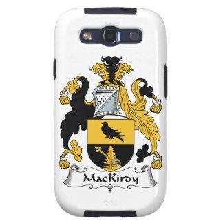 Escudo de la familia de MacKirdy Galaxy S3 Protectores
