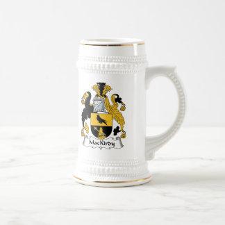 Escudo de la familia de MacKirdy Jarra De Cerveza