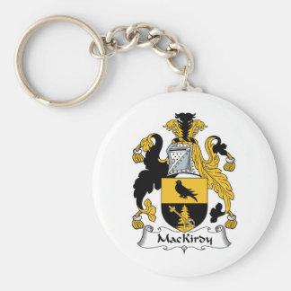 Escudo de la familia de MacKirdy Llavero Redondo Tipo Pin