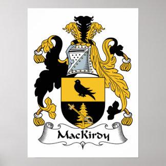 Escudo de la familia de MacKirdy Impresiones