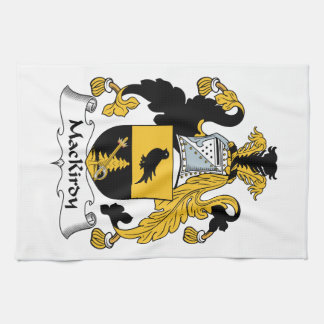 Escudo de la familia de MacKirdy Toalla