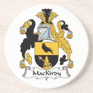 Escudo de la familia de MacKirdy Posavasos Para Bebidas