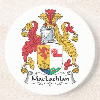Escudo de la familia de MacLachlan Posavasos Manualidades