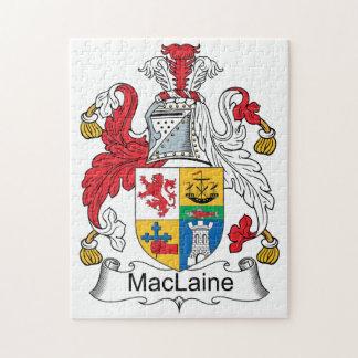 Escudo de la familia de MacLaine Puzzles