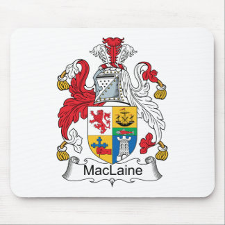 Escudo de la familia de MacLaine Tapetes De Raton