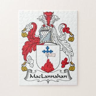Escudo de la familia de MacLannahan Rompecabezas