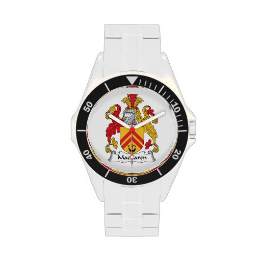 Escudo de la familia de MacLaren Relojes De Pulsera