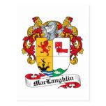 Escudo de la familia de MacLaughlin Postales