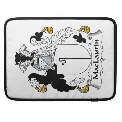 Escudo de la familia de MacLaurin Funda Macbook Pro