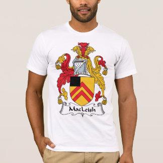 Escudo de la familia de MacLeish Playera