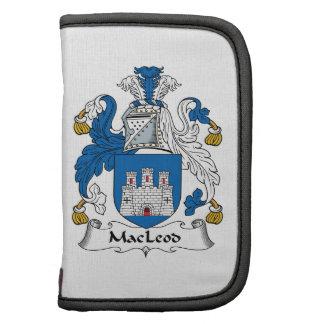Escudo de la familia de MacLeod Organizador