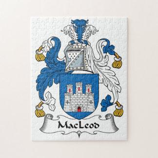 Escudo de la familia de MacLeod Puzzles Con Fotos