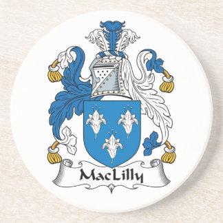 Escudo de la familia de MacLilly Posavaso Para Bebida