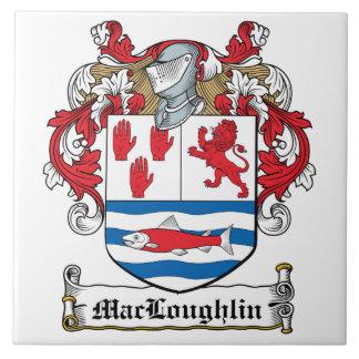 Escudo de la familia de MacLoughlin Tejas Ceramicas