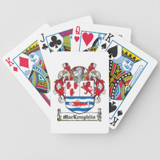Escudo de la familia de MacLoughlin Cartas De Juego