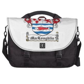 Escudo de la familia de MacLoughlin Bolsa Para Ordenador