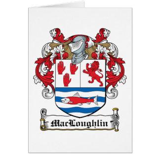 Escudo de la familia de MacLoughlin Felicitaciones
