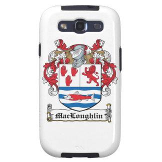 Escudo de la familia de MacLoughlin Samsung Galaxy S3 Cárcasas