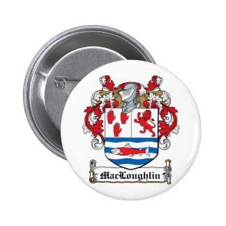Escudo de la familia de MacLoughlin Pins