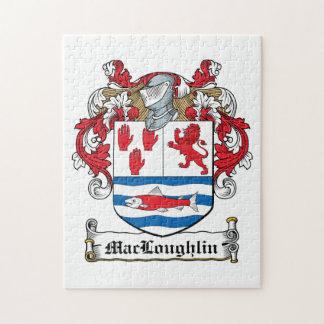 Escudo de la familia de MacLoughlin Puzzle